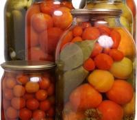 Осенние заготовки к столу